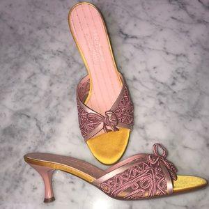 New Salvatore Feragamo sandal size 10